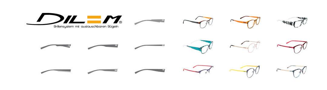 Französische Brillenmarke Dilem