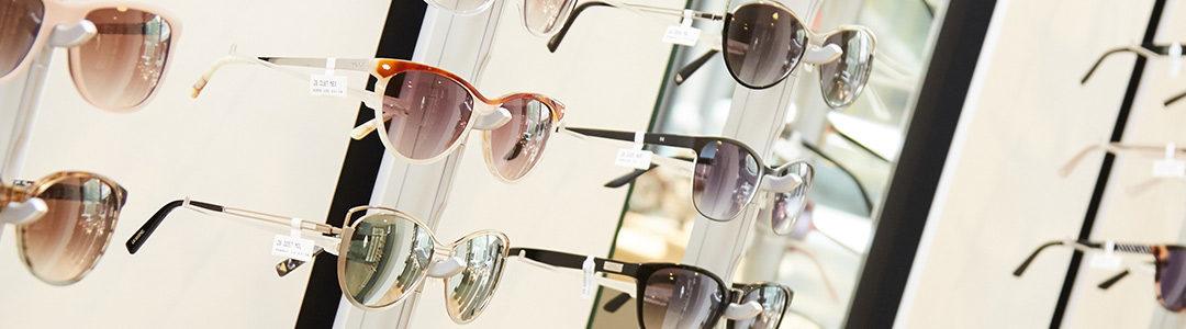 Sonnenbrillenpräsentation im Modehaus Messerich